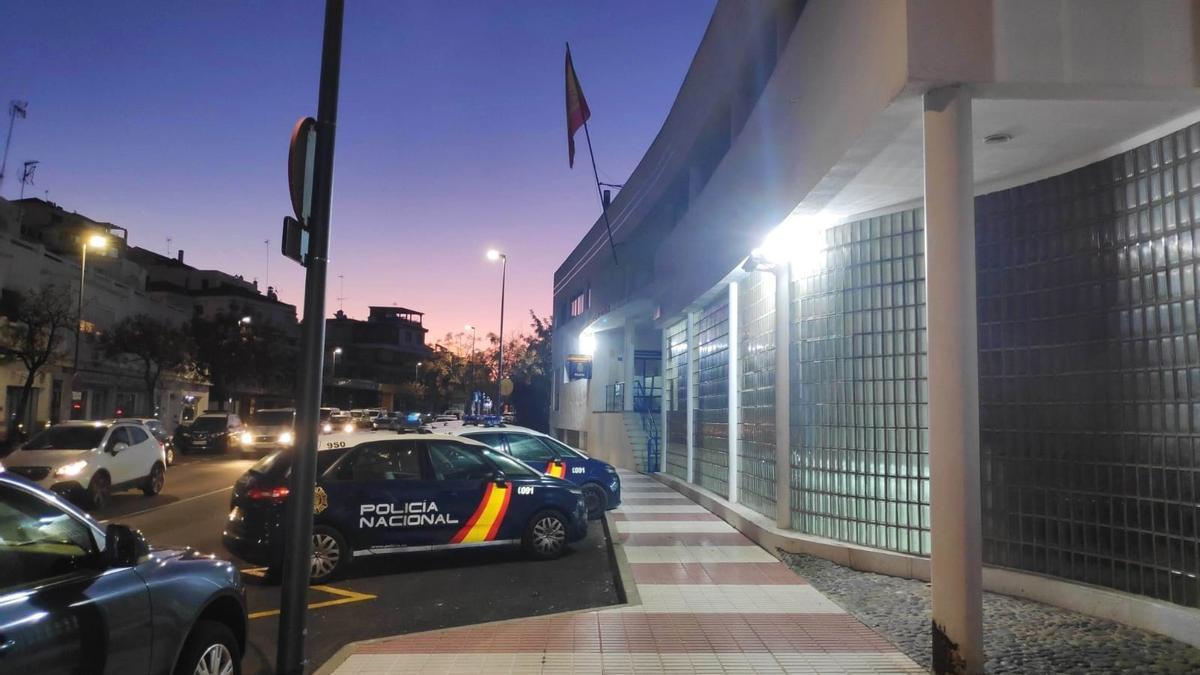 Comisaría de Marbella.