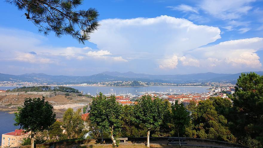 Septiembre arranca entre rayos y granizadas en Galicia