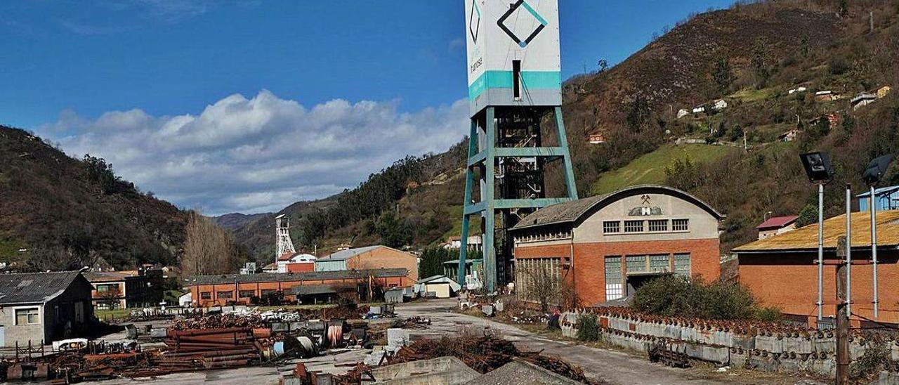 El pozo Santiago, que se postula como almacén estratégico de medicamentos.