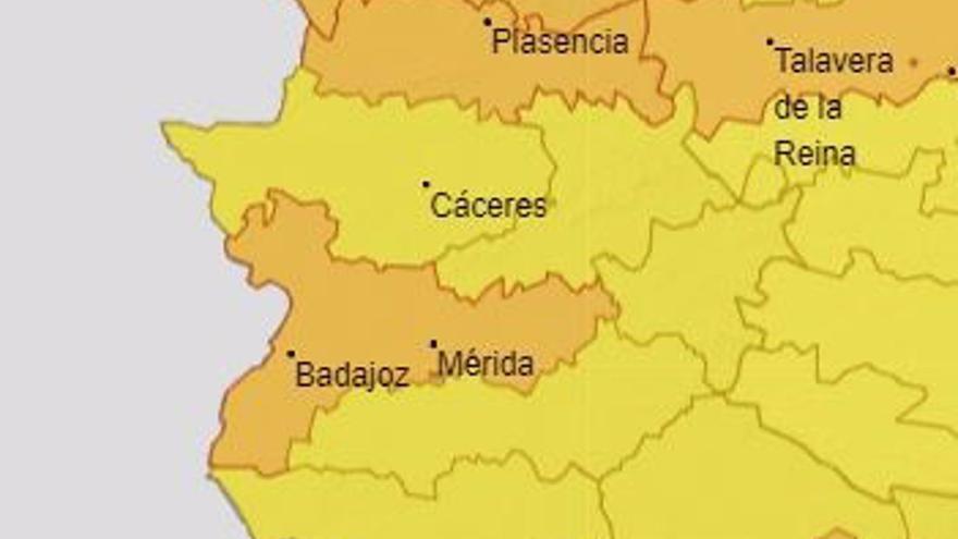Extremadura continúa en alerta este domingo por temperaturas de 40 grados