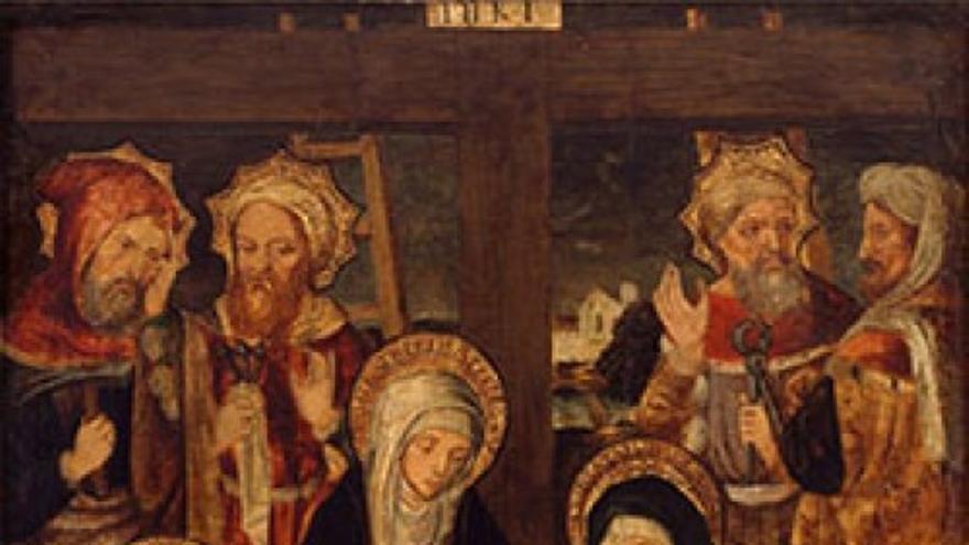 Exposición Lamentación ante Cristo muerto
