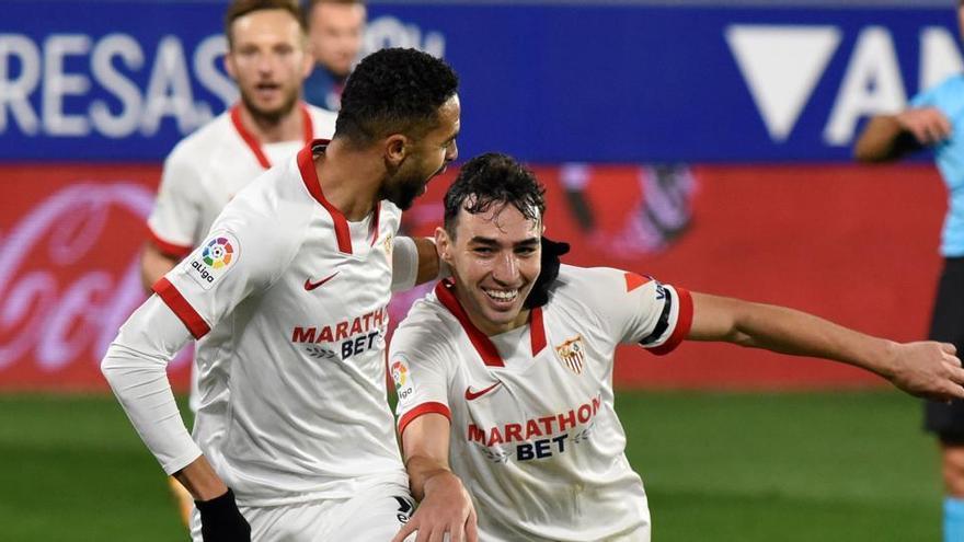 El Sevilla se afianza en las plazas europeas