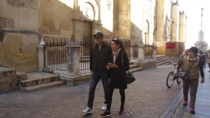 "Zidane: ""Es mi primera visita a Córdoba; me ha encantado la Mezquita"""