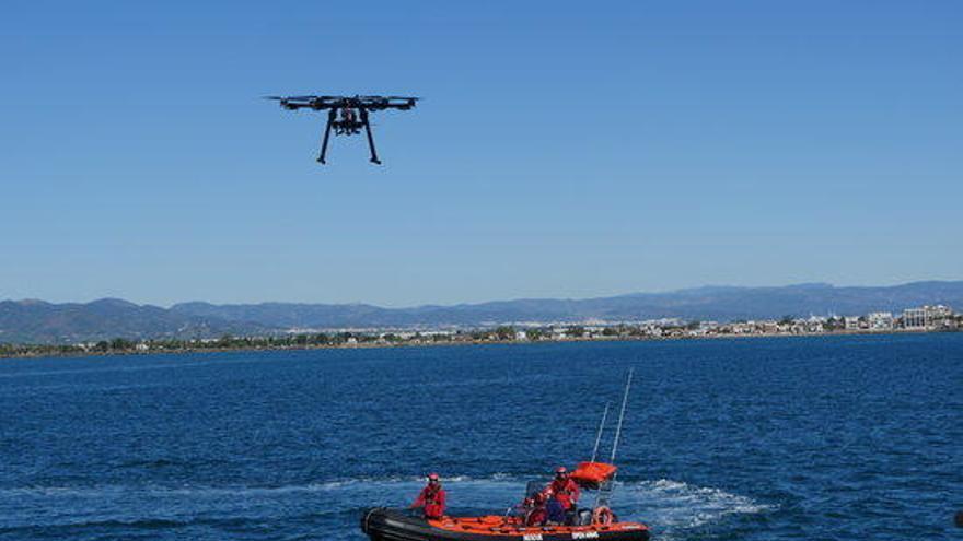 Estudiants de la UPC dissenyen un dron per als rescats de Proactiva Open Arms al Mediterrani
