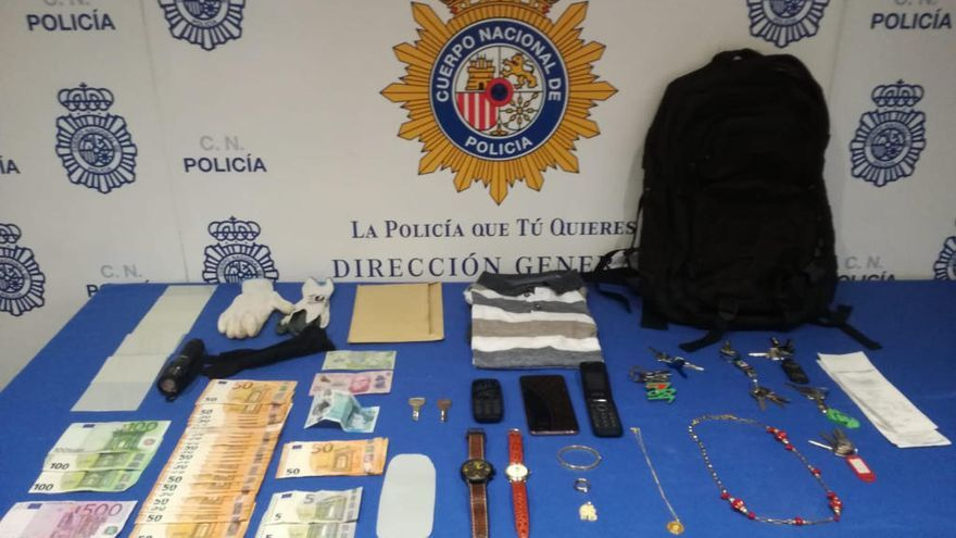 Detenido por robar en tres viviendas de Palma