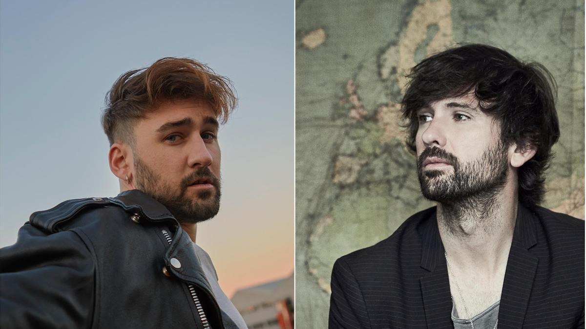 El pop explosivo de David Otero y Dani Fernández alza el telón del Mar de Sons