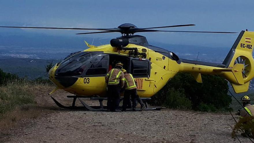 Rescaten amb helicòpter un home de 81 anys que ha caigut a Núria
