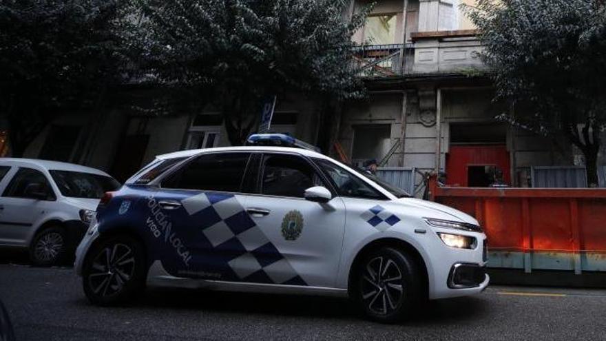 Fuga frustrada en Vigo de un conductor que se saltó el toque de queda