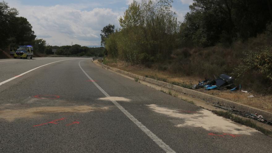 Els Mossos detenen la conductora del vehicle implicat en l'accident mortal de Fornells de la Selva, per anar beguda