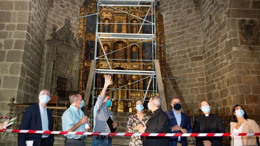 El Obispado de Plasencia quiere la iglesia de San Martín rehabilitada para las Edades del Hombre