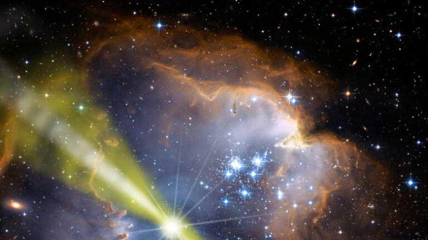 Un resplandor difuso de rayos gamma ilumina el corazón de la Vía Láctea