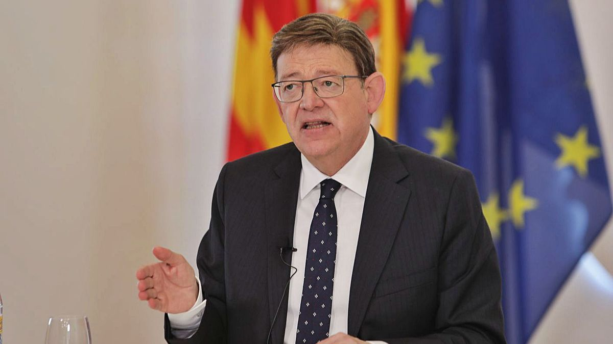 El presidente de la Generalitat Ximo Puig.