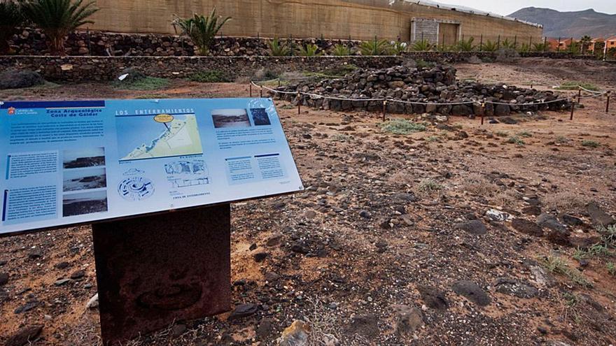 Gáldar arranca los trabajos de urbanización del entorno del Yacimiento de La Guancha