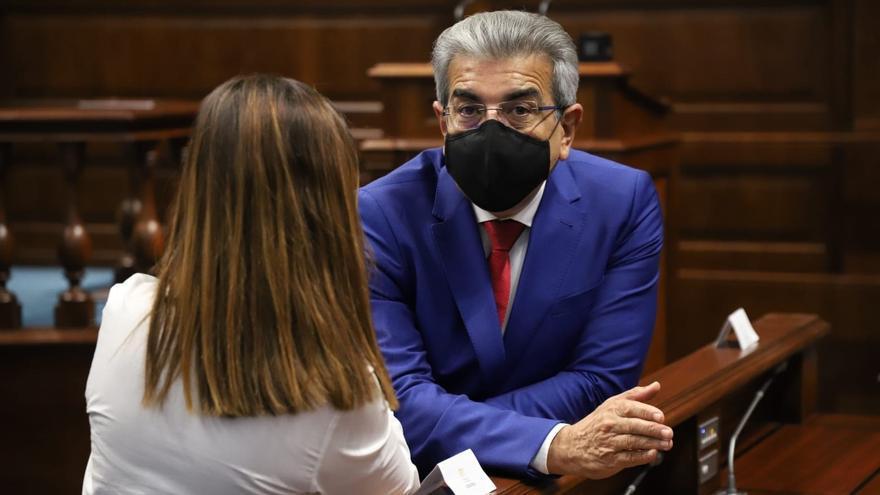 Román Rodríguez se muestra convencido de que los PGE respetarán el fuero canario