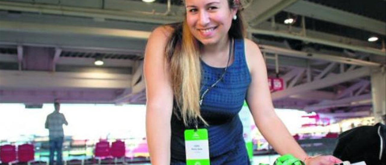 Carla Pérez-Vera, un  paso por delante del futuro