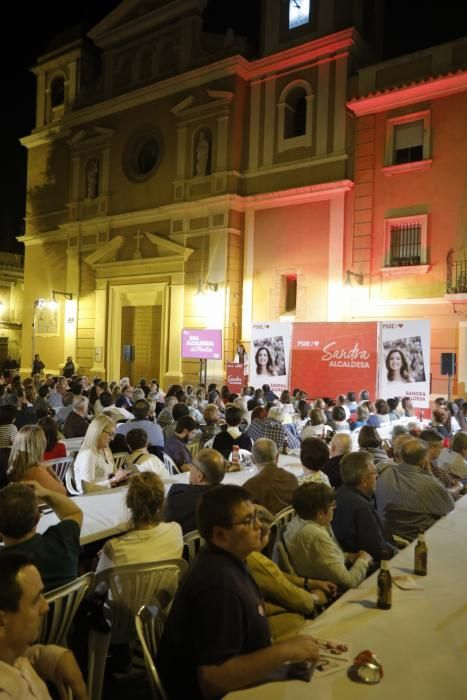 Inicio de la campaña de las elecciones municipales en València