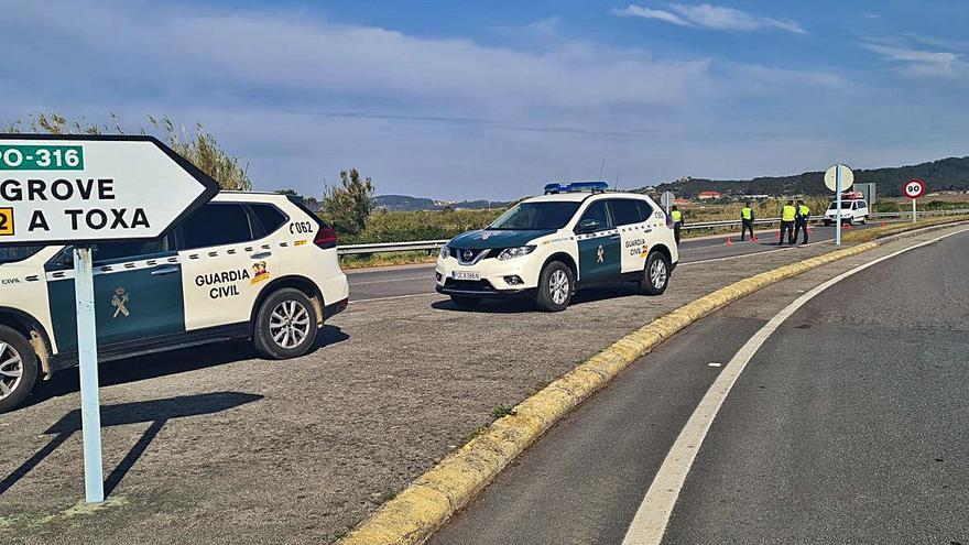 Sorteando controles policiales para llegar a destino prohibido