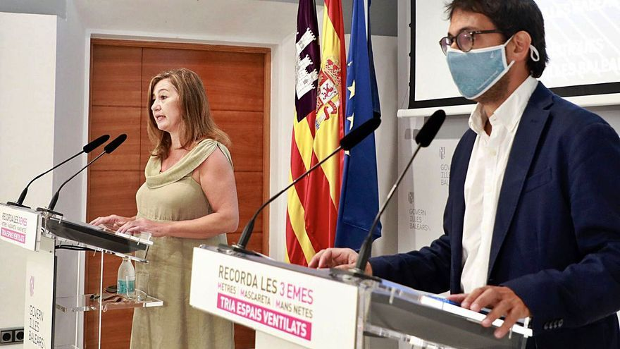 El Govern saca pecho con las cifras del desempleo y los datos turísticos de Baleares