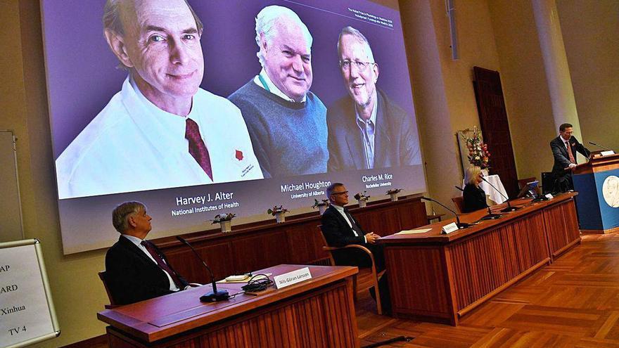 El Premio Nobel de Medicina reconoce a los descubridores del virus de la hepatitis C
