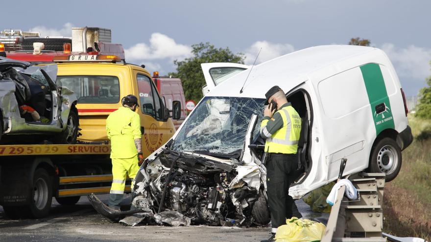 Accidente con un fallecido y varios heridos en Villarrubia