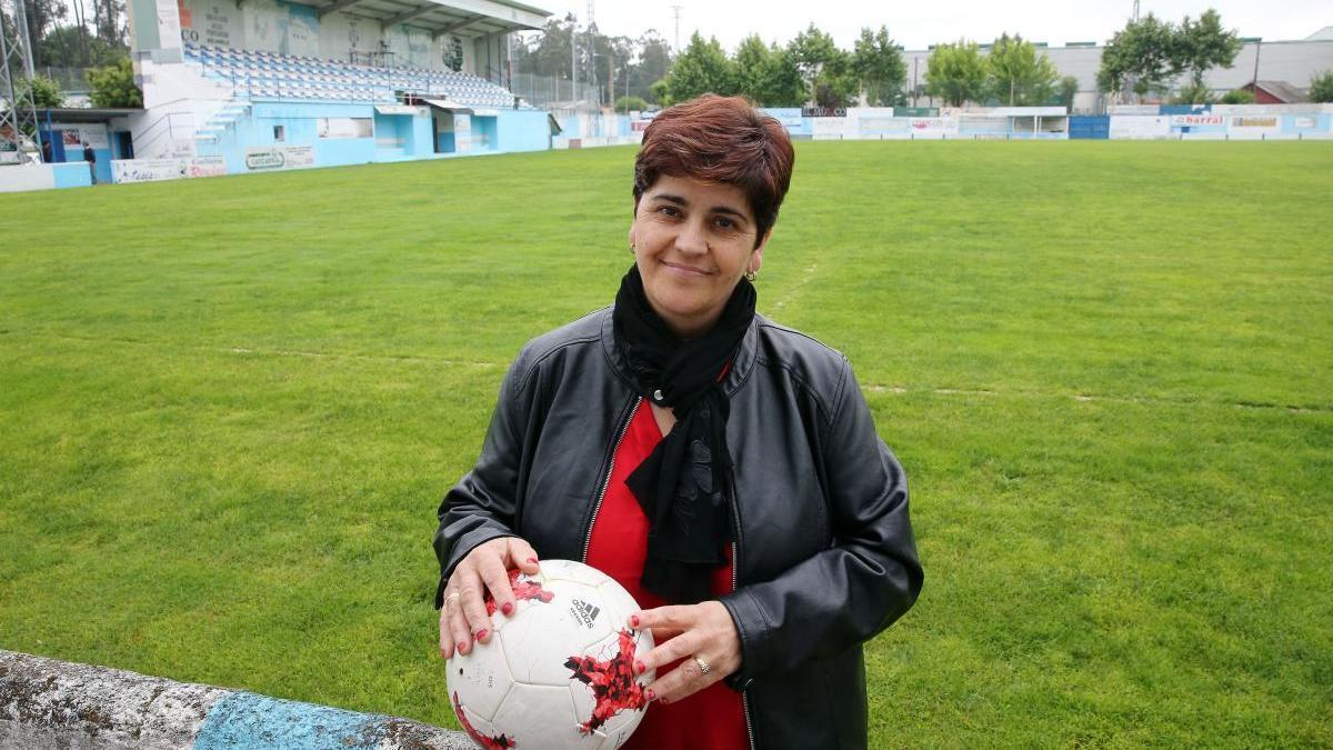 María Placeres Boente, presidenta del Areas. // Marta G. Brea