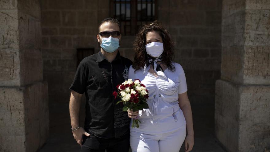La primera boda celebrada en Toro, Zamora, en imágenes