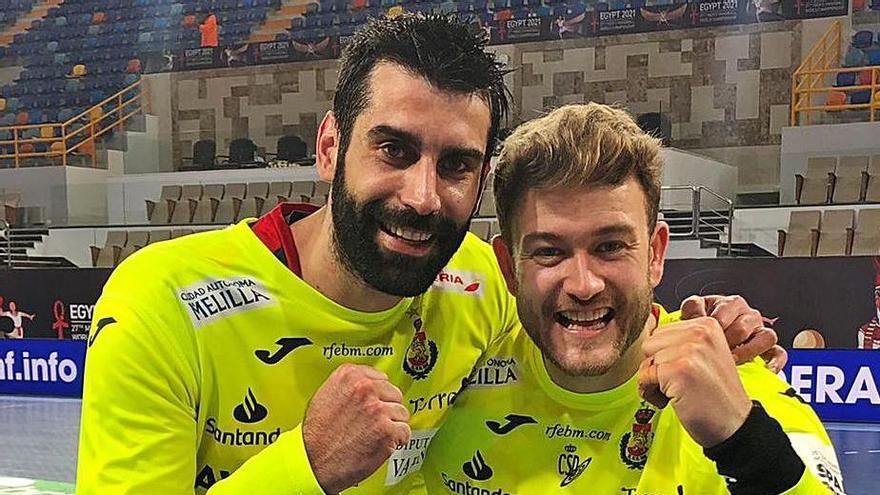 """Corrales: """"El título sería un sueño para todos, pero antes hay que ganar a Dinamarca"""""""
