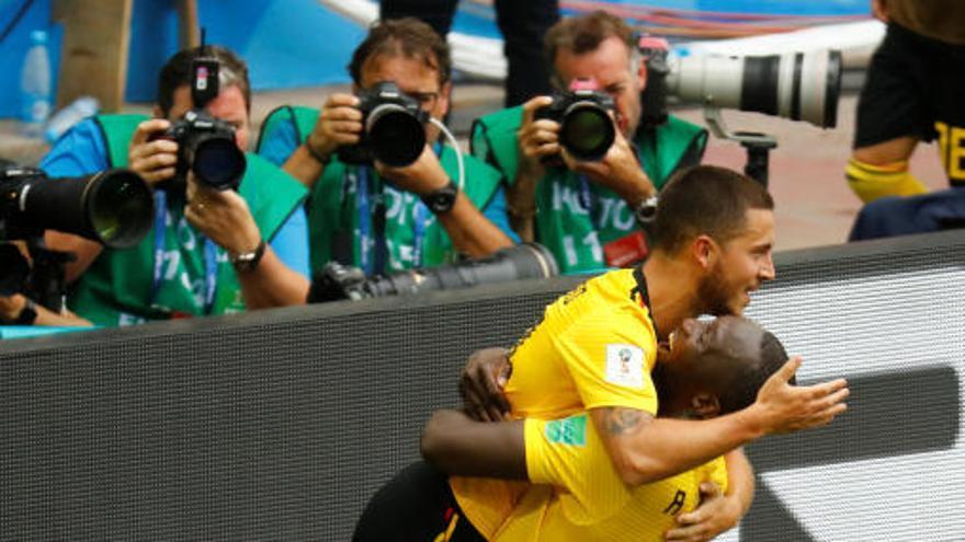 Bèlgica goleja Tunísia i ja és a vuitens de final