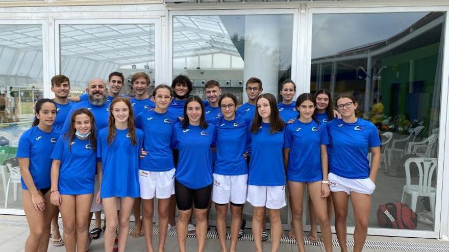 El CN Xàtiva abre temporada con seis podios en Les Pereres
