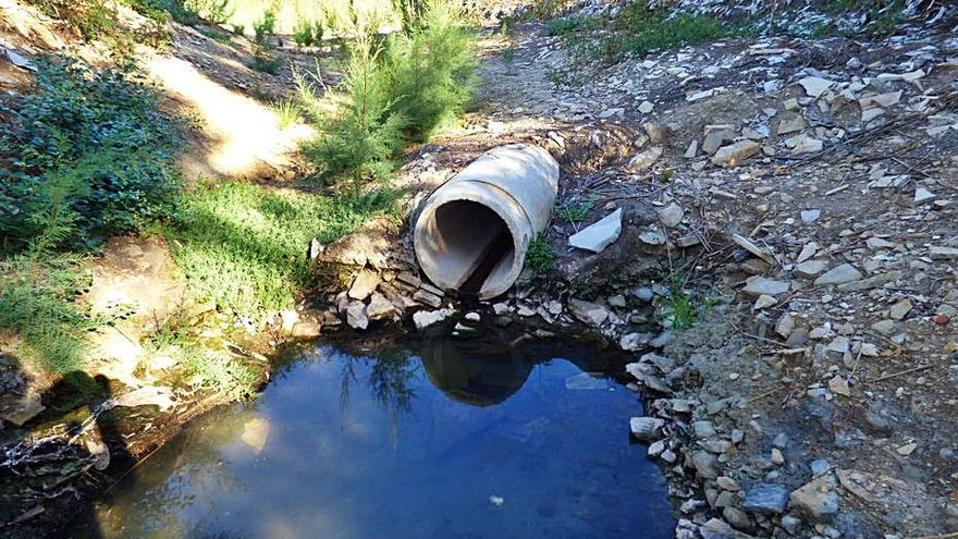Vecinos de Charco Amargo de Monóvar denuncian el deterioro del lecho de la rambla