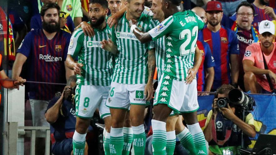 Las mejores imágenes del Barcelona - Betis