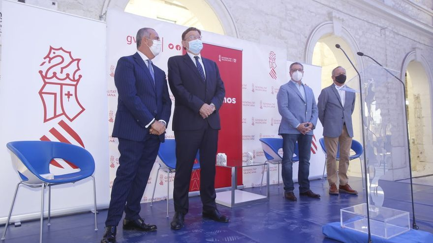 Puig anuncia proyectos para la reconstrucción de la provincia de Alicante por un valor de 9.055 millones de euros