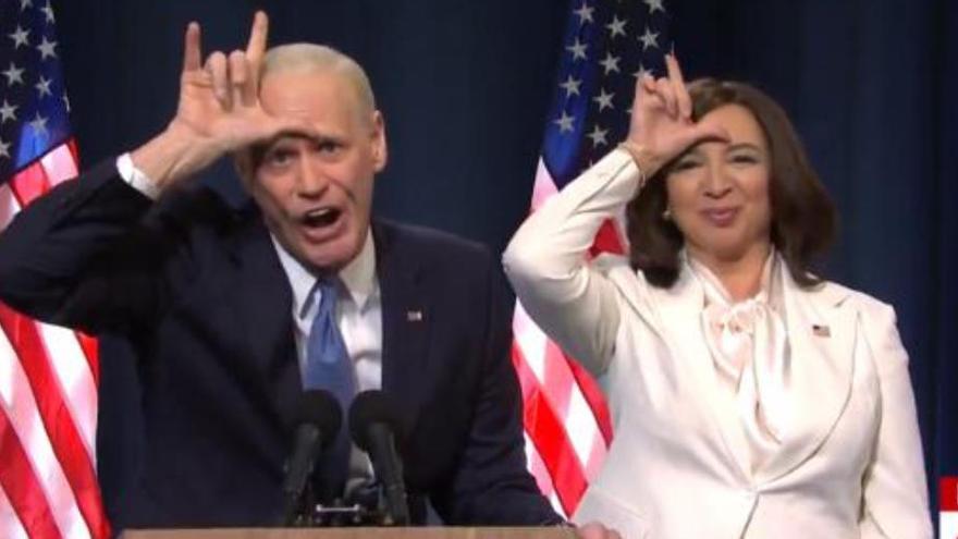 Jim Carrey se'n burla de Trump amb la seva paròdia de Joe Biden