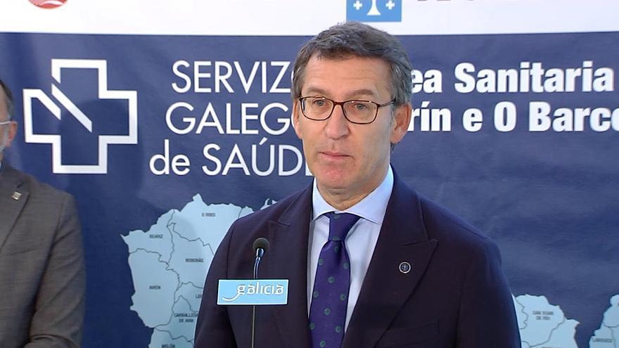 """Feijóo: """"En estos momentos estamos construyendo diez centros de salud en Galicia"""""""