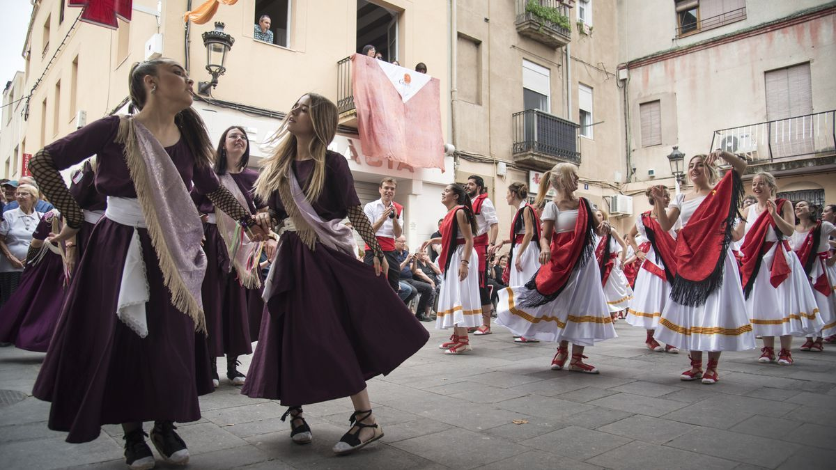 Ballada de gitanes a Sant Vicenç, el 2019