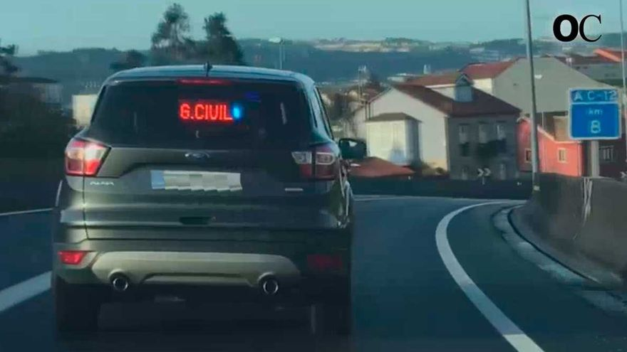 Controles de coches camuflados