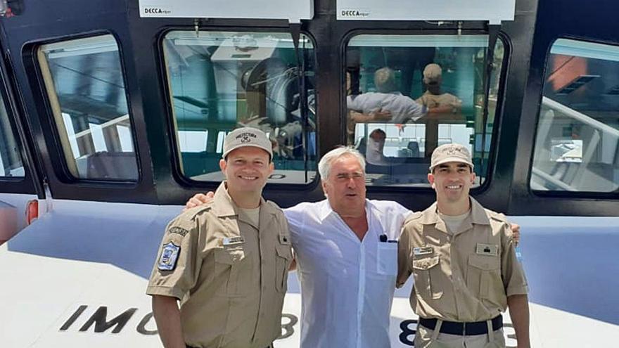 El buque oceanográfico de Armón para Argentina llega a su base de Mar del Plata
