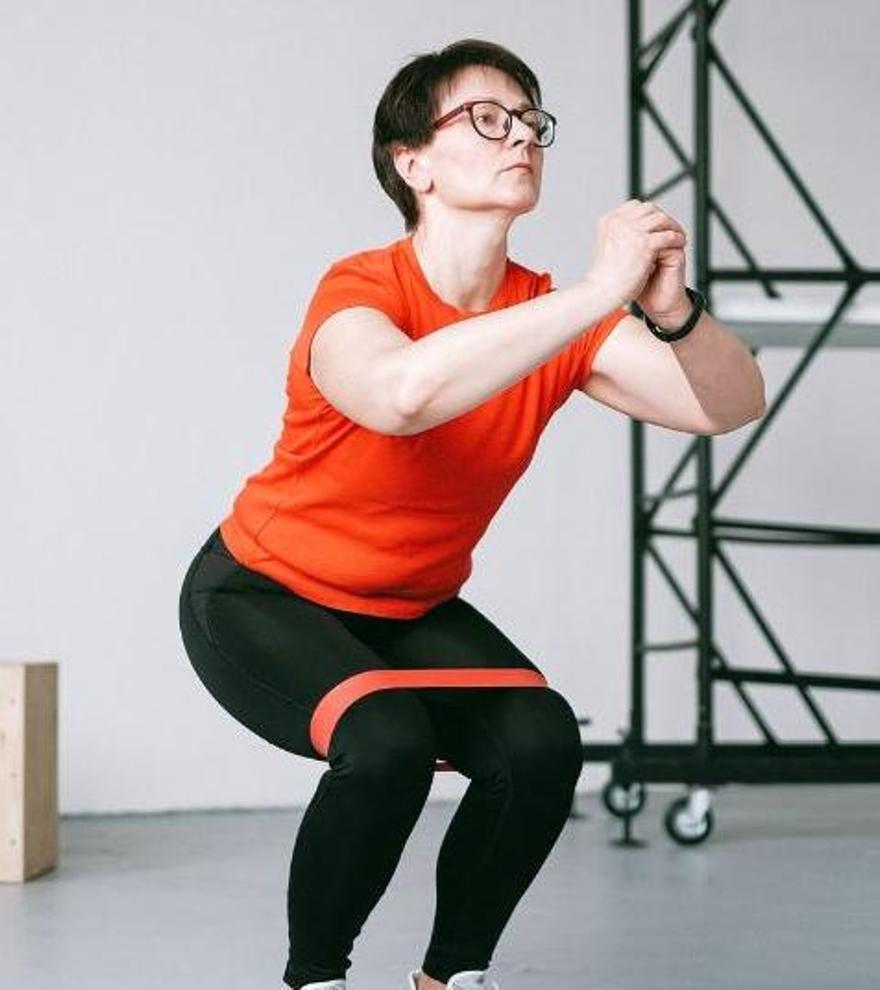 A los 50 puede conseguirse la línea deseada sólo adaptando los ejercicios