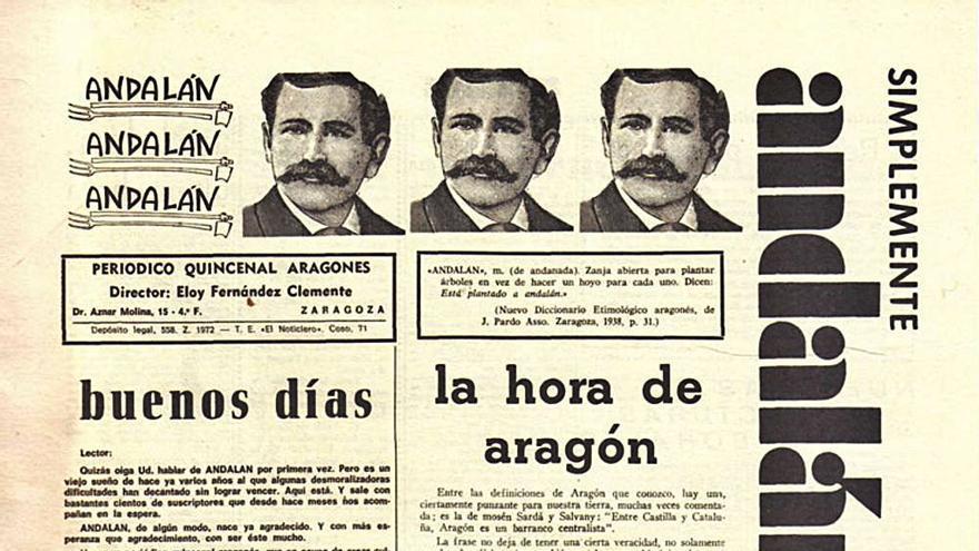 'Andalán', una voz del renacer de Aragón