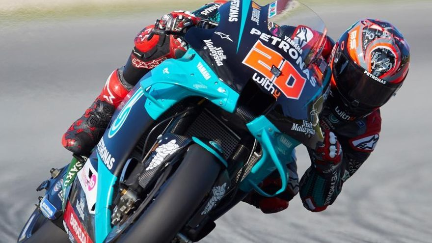 Quartararo impone su ritmo en los libres del GP de Cataluña