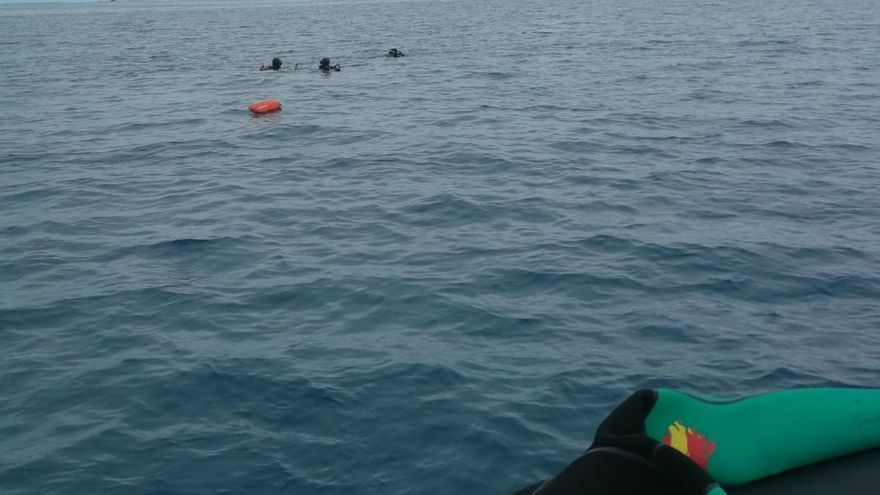 Localizan el cadáver de un submarinista al sur de Gran Canaria