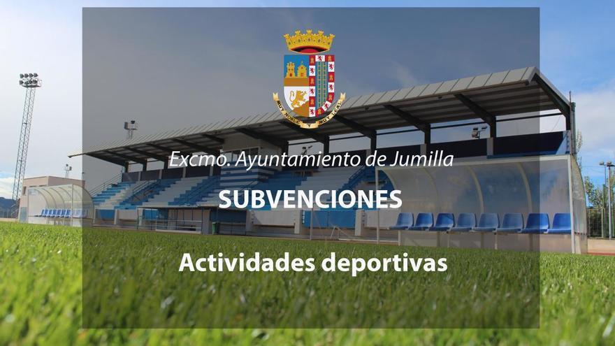 Se inicia el plazo en Jumilla para solicitar subvenciones para actividades deportivas
