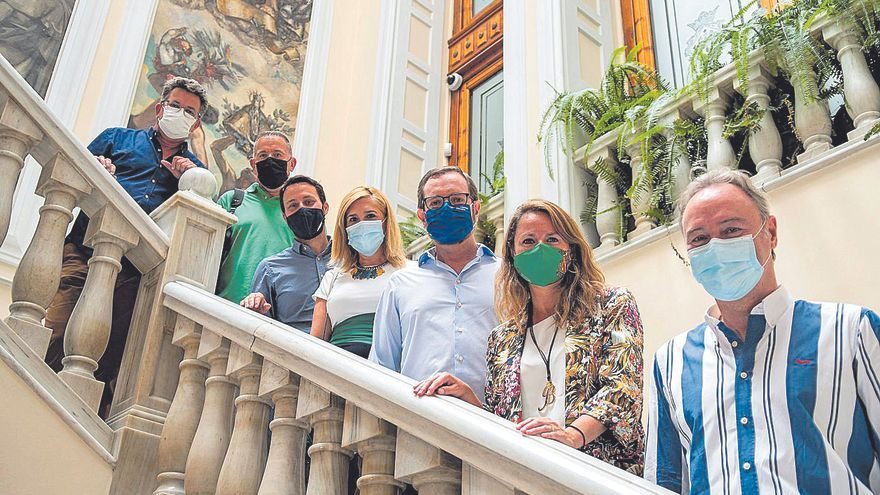 Maroto reclama más ayudas para el comercio tradicional de Castelló