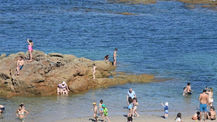Las máximas rozarán hasta el sábado récord en Galicia
