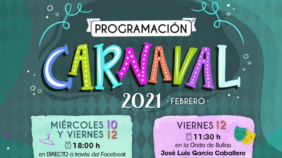 El Ayuntamiento de Bullas invita a disfrutar del Carnaval desde casa