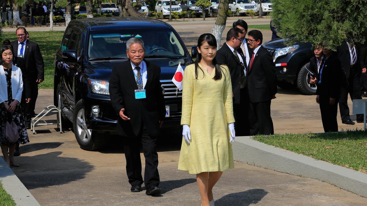 La princesa Mako de Japón.