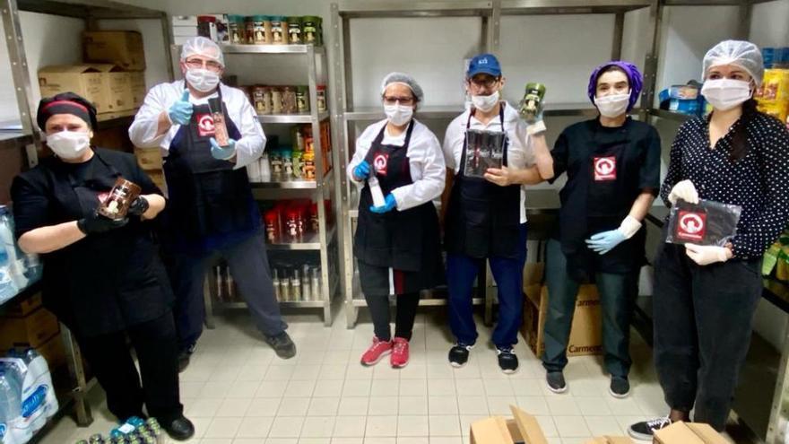 Alicante Gastronómica Solidaria entrega la ración 100.000 a colectivos y personas necesitadas