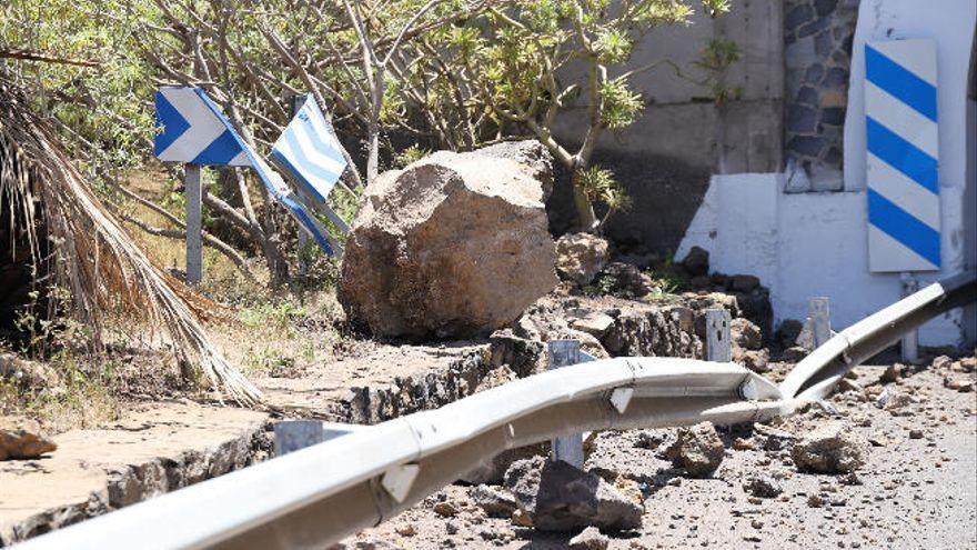 El Cabildo anuncia cortes temporales en la TF-5 por riesgo de desprendimientos