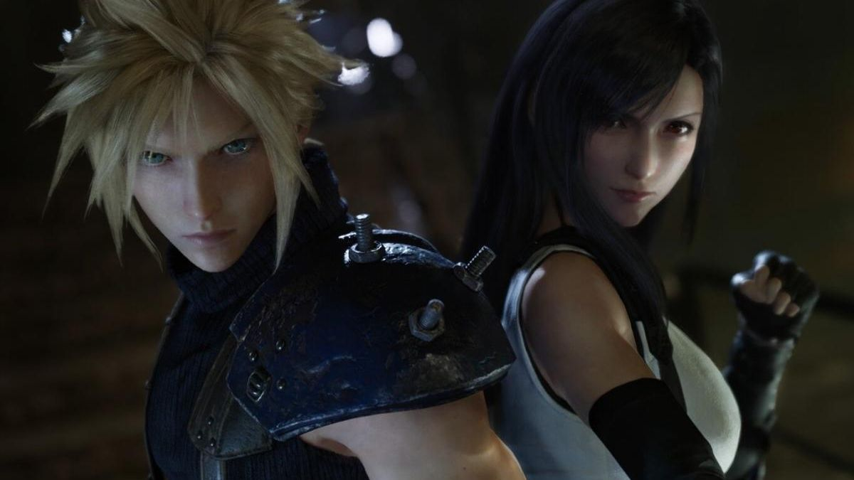 Cloud y Tifa de 'Final Fantasy VII Remake'.