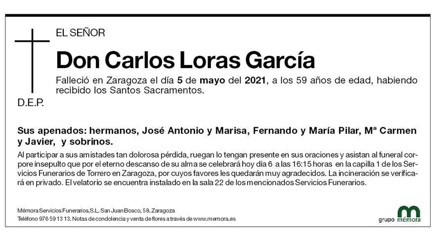 Carlos Loras García